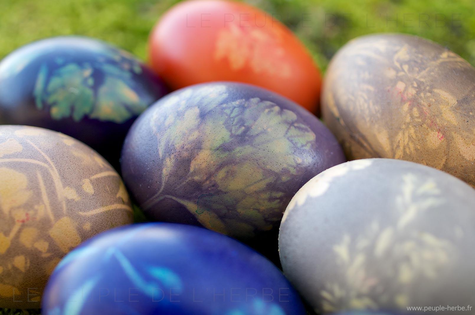 Œufs de Pâques faits maison